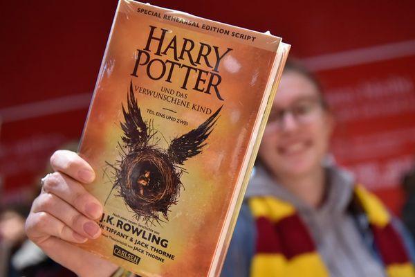 Sortie d'Harry Potter et l'enfant maudit en Allemagne.