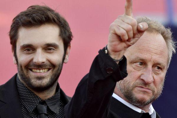 Pio Marmaï et Benoit Poelvoorde au festival de Deauville