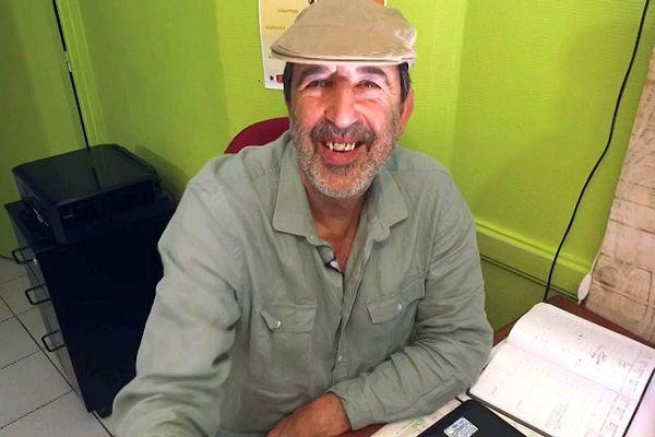 Gérard Saba, membre de l'association Eco Loge Toit.