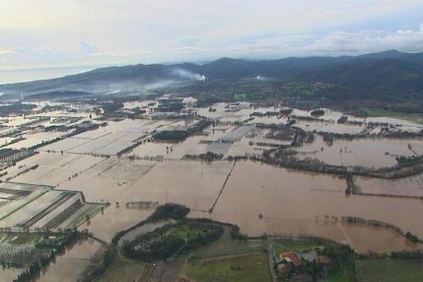 Inondations dans le Var, en janvier 2014