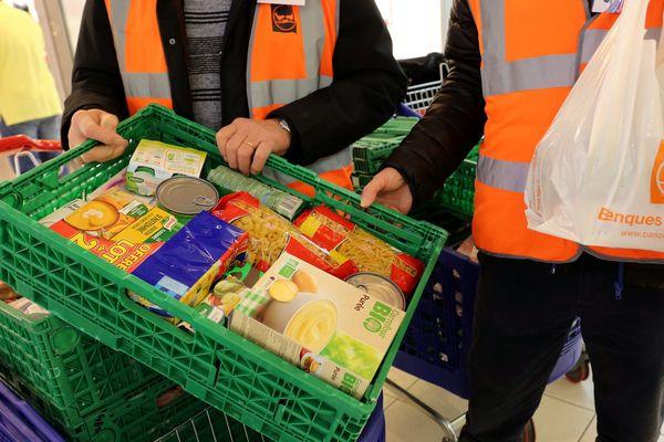 La collecte des banques alimentaires a lieu jusqu'à samedi soir