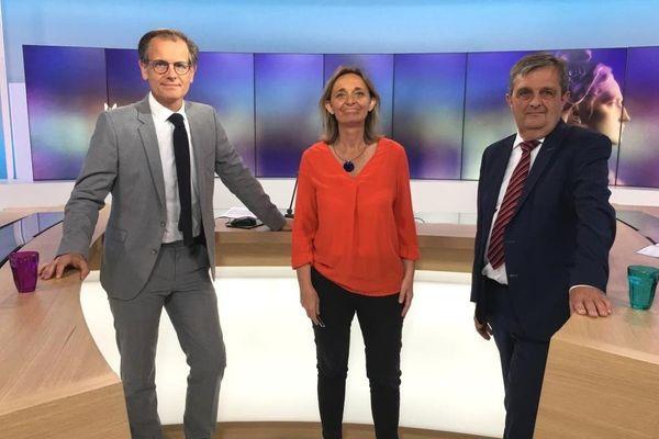 Municipales à Saint-Malo : Gilles Lurton face à Anne Le Gagne : le débat du 2e tour présenté par Robin Durand (à gauche)
