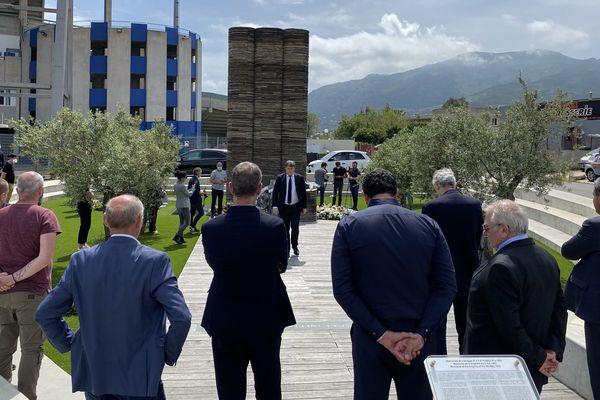 Une cérémonie d'hommage aux victimes de la catastrophe de Furiani s'est tenue ce 5 mai.