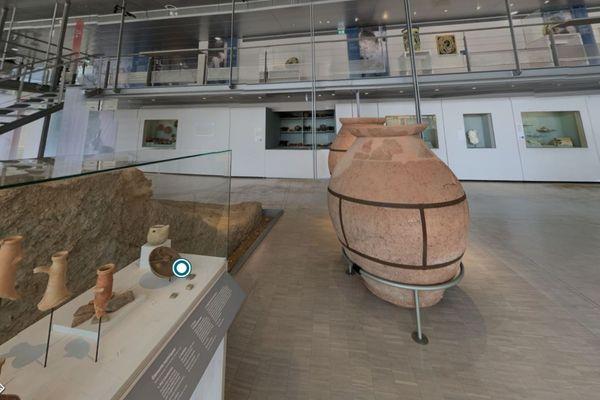 """Le musée Gallo-Romain de Saint-Romain-en-Gal vous offre une visite """"virtuelle"""" enrichie de sa nouvelle exposition consacrée aux potiers"""