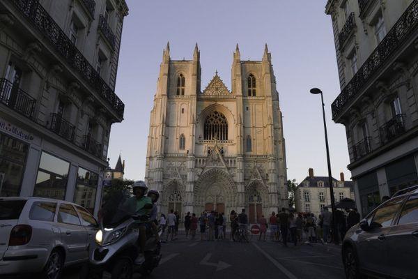 Incendie de la cathédrale de Nantes le 18 juillet 2020
