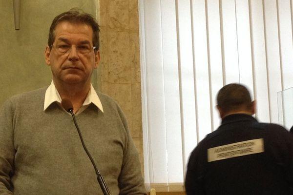 Marc Féral lors de son procès à Rodez en 2014