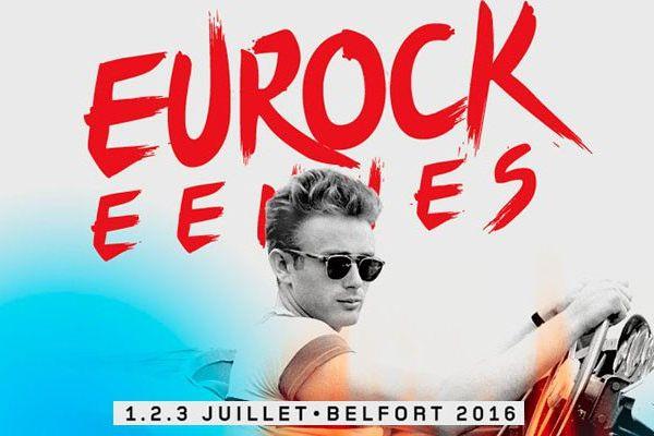 James Dean tête d'affiche des Eurockéennes 2016