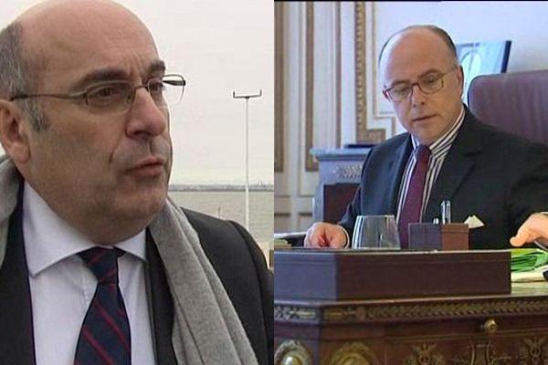 Jean-Léonce Dupont, président du Calvados, répond au ministre de l'Intérieur, Bernard Cazeneuve