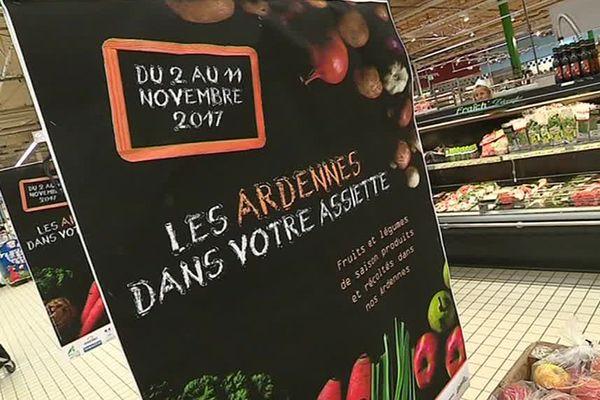Les Ardennes dans votre assiette, opération qui encourage à consommer des produits locaux.