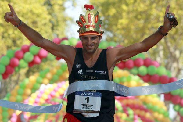 Thierry Guibault, nouveau vainqueur du marathon du Médoc