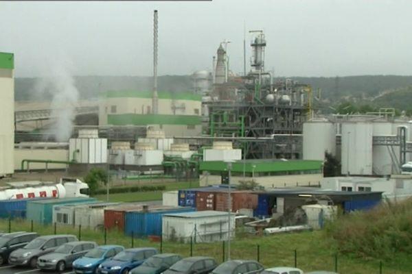 L'usine Saipol de Grand-Couronne