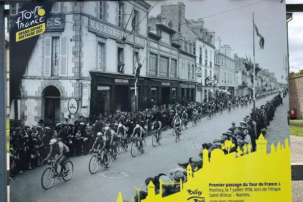 1938 date du premier passage du Tour à Pontivy