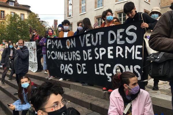 """Contre-manifestation pour l'ouverture de la """"PMA pour tou·te·s"""""""