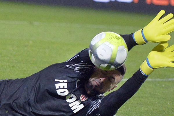 Danijel Subasic, gardien de l'AS Monaco, brillant mercredi soir n'a pourtant pas réussi à sauver son équipe d'une nouvelle défaite à Nantes (15ème journée de Ligue 1).