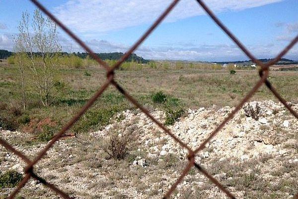Salsigne (Aude) - les déchets de l'ancienne mine d'or - avril 2016.