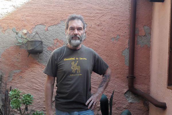 Christophe Chrétien salarié de Sanofi à Tours et délégué central CGT