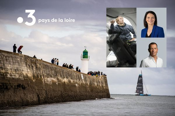 Le 8 novembre, vivez la descente du chenal par les skippers puis le départ de la course.