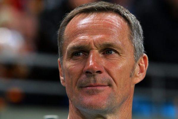 Albert Cartier, entraîneur du FC Metz.