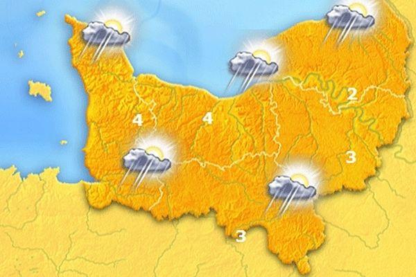 La carte des prévisions météo pour ce dimanche 13 décembre 2013
