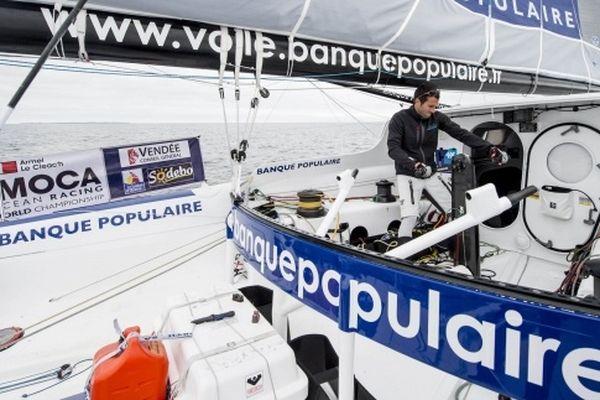 Armel Le Cléac'h sur Banque Populaire
