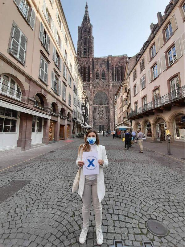 Juliette Bossert, guide-conférencier à Strasbourg