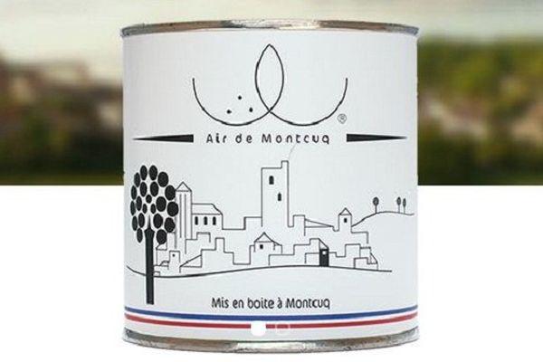 L'air de Montcuq est en boîte