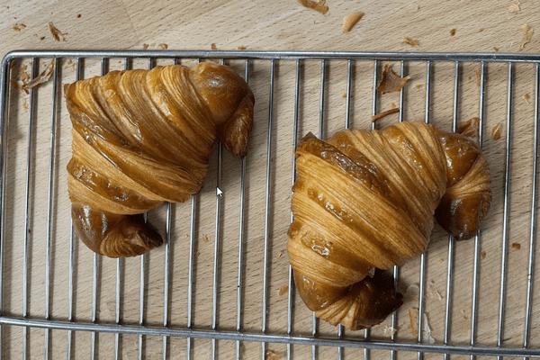 Les croissants d'Antoine, premier prix de la sélection régionale du concours du meilleur croissant