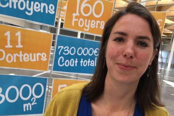 Julie Laernoes, candidate EELV à la mairie de Nantes, mettra un milliard d'euros pour le climat si elle est élue.