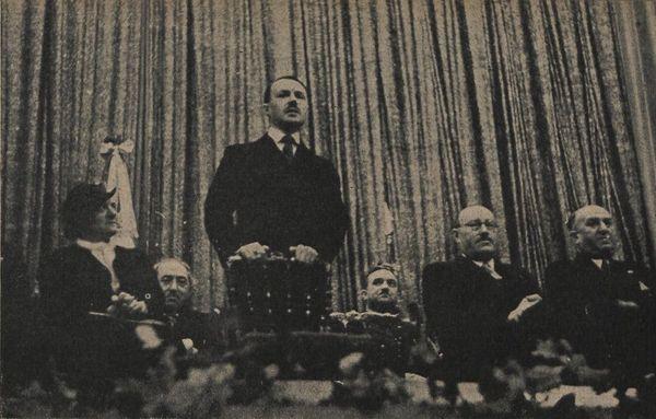 Discours de Maurice Genevoix à l'occasion des vingt ans de l'association des Mutilés du Loiret