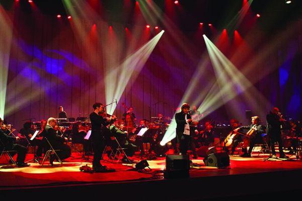 Denez Prigent et l'Orchestre Symphonique de Bretagne au Couvent des Jacobins