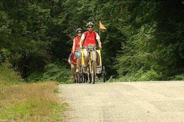 Le vélo électrique débarque en forêt de Brocéliande