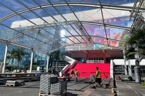 A Cannes, le festival se prépare, la fin du confinement annonce le retour des événements
