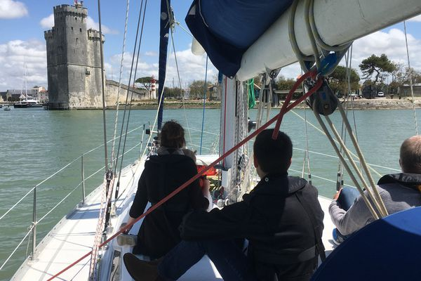Des sorties en mer gratuites sont organisées chaque jour jusqu'à dimanche à partir du vieux port de La Rochelle.