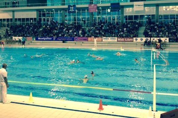 Le public était venu nombreux soutenir le Montpellier Water Polo