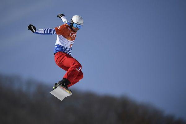 Pierre Vaultier, entre ciel et neige