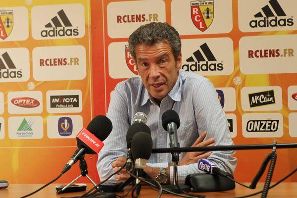 Conference de Presse de Luc Dayan ce mercredi matin à Lens.
