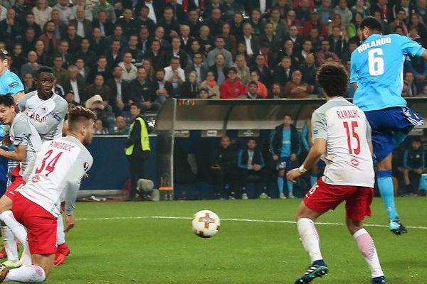 Rolando marque le but crucial à Salzbourg