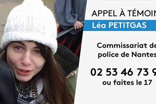 Un nouvel avis de recherche avait été lancé en mars 2018 par la police pour retrouver Léa Petitgars
