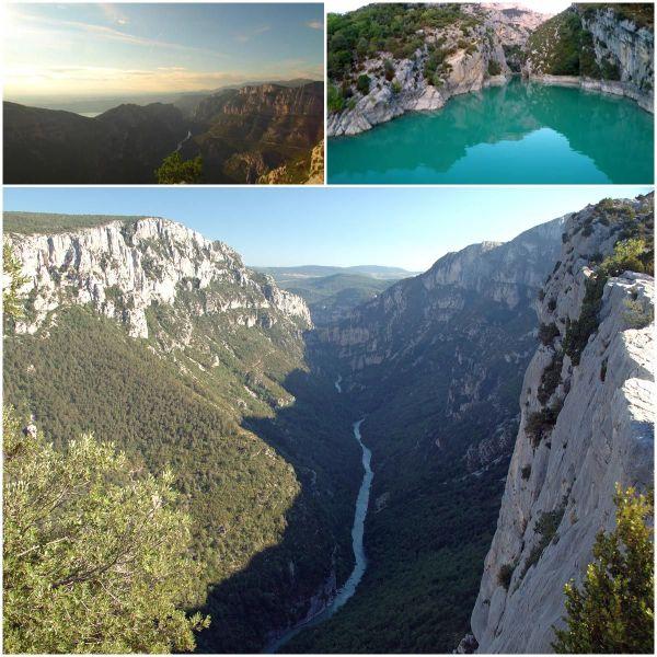 Les gorges du Verdon (grand canyon), Alpes de hautes-Provence