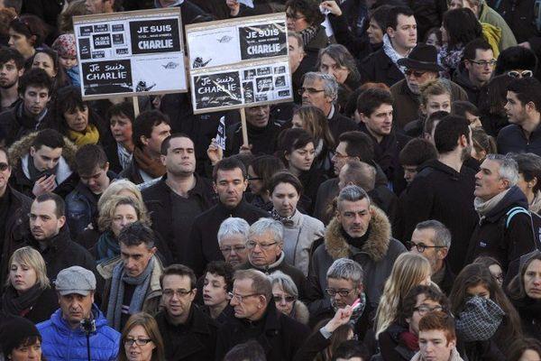 Le rassemblement à Rennes