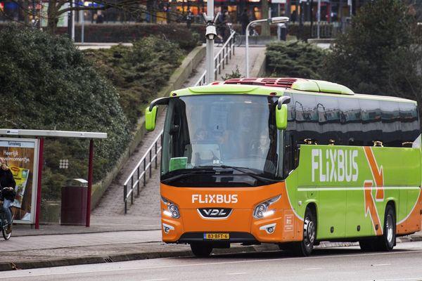 Un bux Flixbus. Image d'archives
