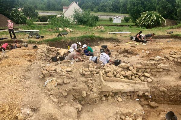 Les fouilles ont repris sur le site archéologique des Crassées.