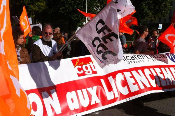 Ils étaient près de 200 à manifester cette après-midi à Nantes devant la préfecture