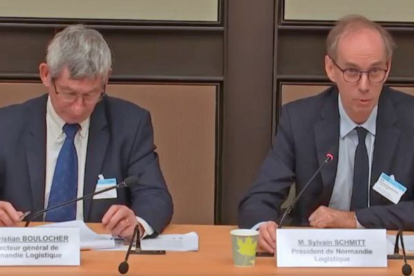 Christian Boulocher et Sylvain Schmitt répondent aux questions des députés le mercredi 6 novembre 2019