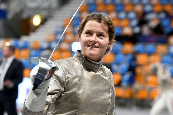 Cécilia Berder du Cercle d'Escrime Orléanais remporte la coupe du monde sabre à Salt Lake City (Etats-Unis)