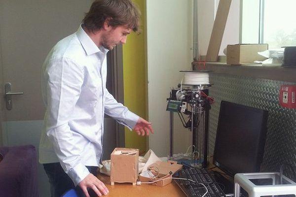 Innoprod'lab, le premier Fab Lab d'Albi vient d'ouvrir.