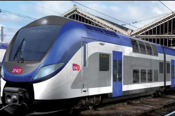Train Bombardier (image de synthèse)