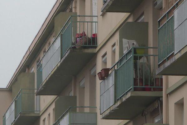 L'immeuble privé de chauffage dans le quartier du Vigenal à Limoges