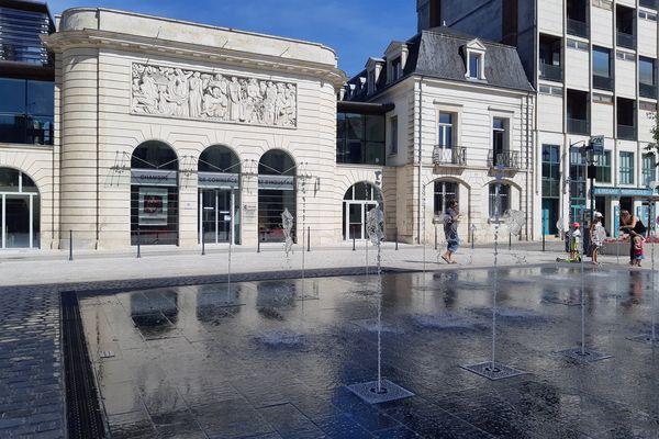 La place Gambetta à Châteauroux. Photo d'illustration