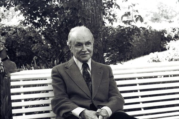 Maurice Genevoix le 5 juin 1974